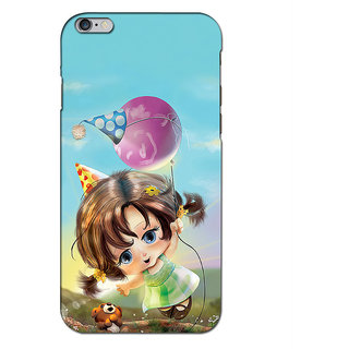 Instyler Premium Digital Printed 3D Back Cover For Apple I Phone 6 Plus 3DIP6PDS-10037