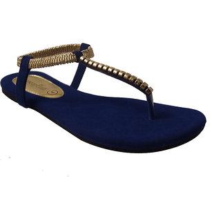 Conceptree Women's Blue Sandals