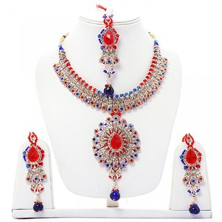Lucky Jewellery Fabulous Red Blue Set