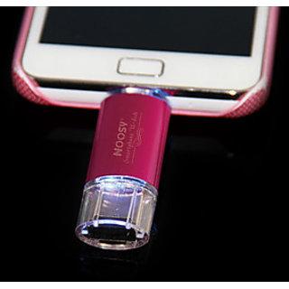Noosy Smartphone U Disk USB Micro USB 4GB Flash Drive MicroSD Card Expansion