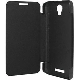Kaira Premium Quality Black Flip Cover for Micromax Unite 3 Q372