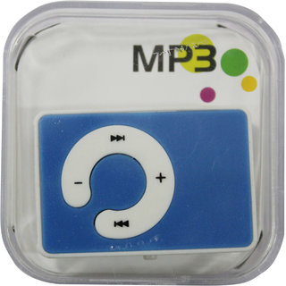 iPod Mini Clip-on C Design mp3 player with Memory card slot  earphone USB Cable