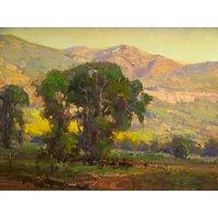 Vitalwalls Landscape Canvas Art Print on Pure Wooden FrameLandscape-678-F-45cm