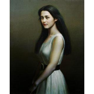 Vitalwalls - Portrait Canvas Art Print Oriental-033-F-60