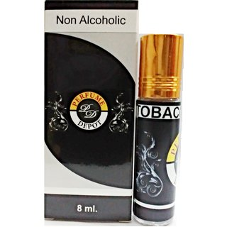 TOBACCO OUDH-ESSENTIAL OIL 8ml. Non-alcoholic Attar-Essential oil