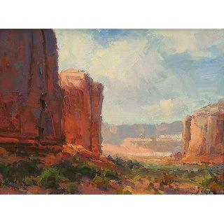 Vitalwalls Landscape Canvas Art Print on Pure Wooden FrameLandscape-668-F-45cm