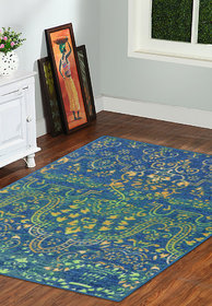 Taba Multi Color Carpet 5*7 Feet (TABA_RUG_913_5F)