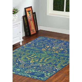 Taba Multi Color Carpet 5*7 Feet (TABA_RUG_913_5F)