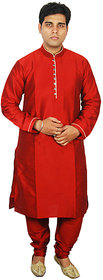 Anjaneya Mens Designer Mehroon Sherwani