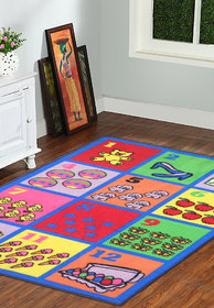Taba Kids Carpet 3*5 Feet (KIDS_RUG_FRUITS (1))