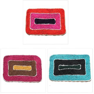 Attractivehomes cotton medium door mat