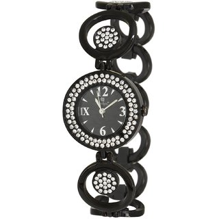 Evelyn Creation Black Round Dial Analogue Watch For Women - BB-219