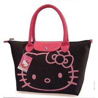 20398f84a85e Buy Fashion Hello Kitty Leather Handbag Online - Get 0% Off