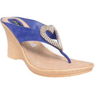 Shooz Women's Blue Sandals