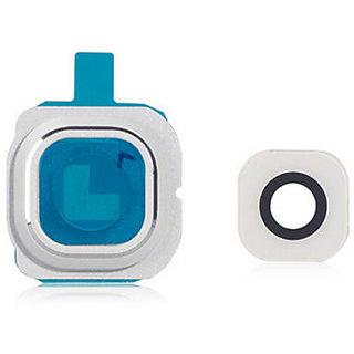 Camera Glass Lens Cover For Samsung Galaxy S6 Edge G925 G925i White Colour
