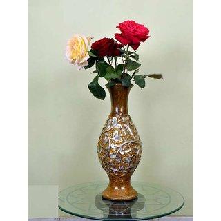 Wooden flower wase