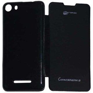 sale retailer 88552 5c2fd SS flip cover for Micromax canvas spark 2 Q334