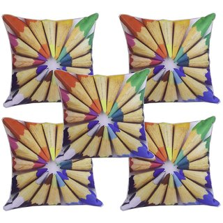Look and Shop Brocade Cushion Covers (16x16)