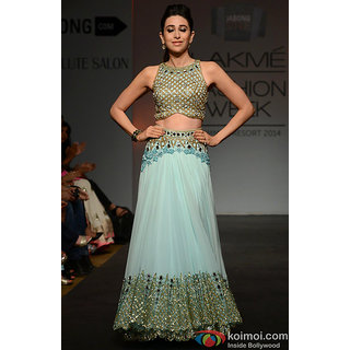 360_New Fancy  Karishma Cyan Lahanga Choli