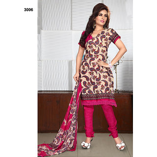 Women's Cotton Embroidered Designer Suits