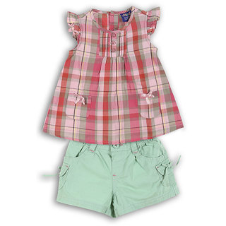 Lilliput Checkered Mix Match 2 Pcs Set (8903822301220)