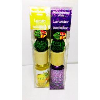 Diffuser Set Lemon  Lavender 2pcs  with sticks  Decorative Ball