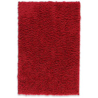 Welhome by Welspun Unwinders Cotton Large Bathrug - Maroon