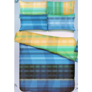 Shopgalore Abstract Cotton Double Bedsheet with 2 Pillow Covers (ML-19)