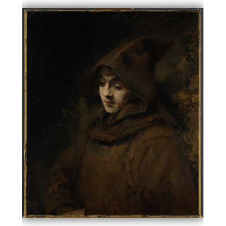 Vitalwalls Portrait Painting Canvas Art Print.-Figure-107-30cm