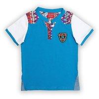 Lilliput Cotton Solid Aztec Cut T-Shirt (8907264058810)