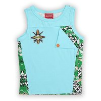 Lilliput Cotton Printed Surfer Wave T-Shirt (8907264061605)