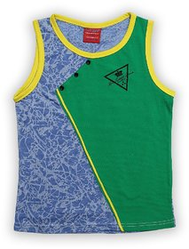 Lilliput Cotton Printed Geometric Pattern T-Shirt (8907264059053)