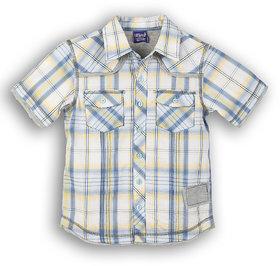 Lilliput Cotton Checkered Weekend Feel Shirt (8903822297639)