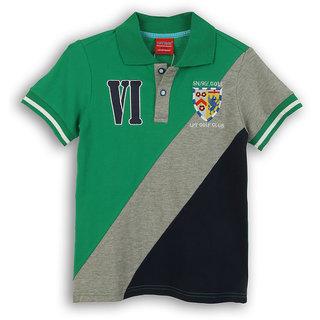 Lilliput Cotton Striped Gulf Club T-Shirt (8907264057356)