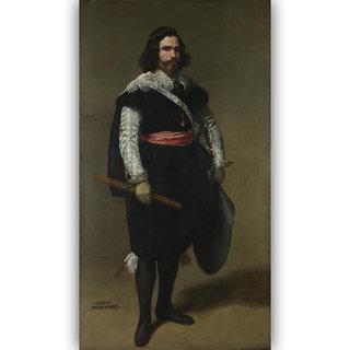 Vitalwalls Don AdriAn Pulido Pareja Canvas Art Print on  Wooden Frame-Figure-133-F-60cm