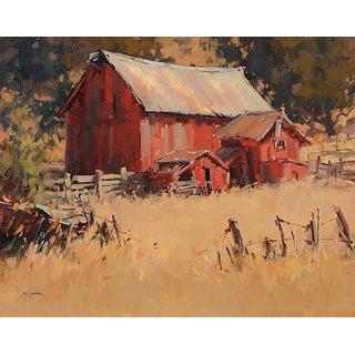 Vitalwalls Landscape Painting Canvas Art Print.Landscape-572-30Cm