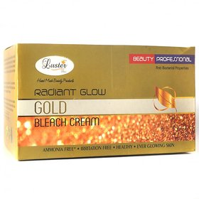 Luster Radiant Gold Bleach Cream (with Pre Bleach Cream  Post Bleach Pack)
