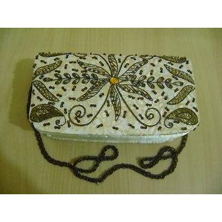 Handmade Embroidered Designer Sling Purse