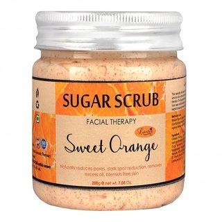 Luster Sweet Orange Sugar Scrub