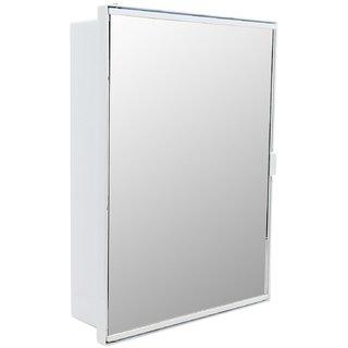 Zahab duster single door plastic cabinet white buy zahab for Zahab bathroom cabinets