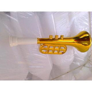 Plastic golden TRUMPET