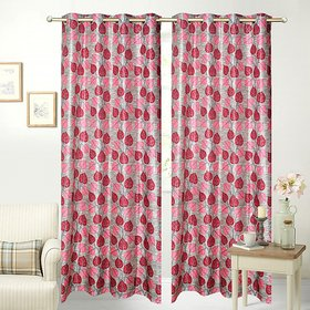 JBG Home Store Combo of 2 Designer Curtains