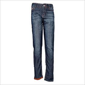 Tales & Stories Orange Turn-Up Jeans  (8-14)