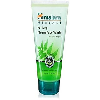 Himalaya Purifying Neem Face Wash (100 ml)