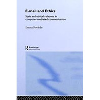 E Mail And Ethics (Hb)