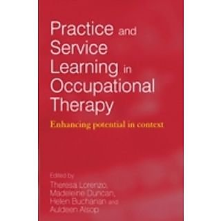 Practice And Service Learning In Occupational Therapy