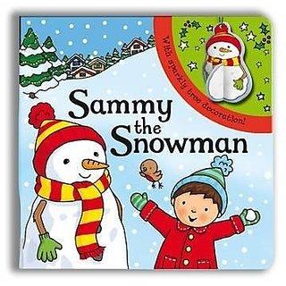 Sparkly Christmas Sammy The Snowman!
