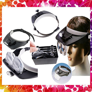 LED Headlamp Magnifying Glass Magnifying Glass