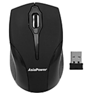 AsiaPower PowerClick 192 Wireless mouse Grey  Black (in blister packing)