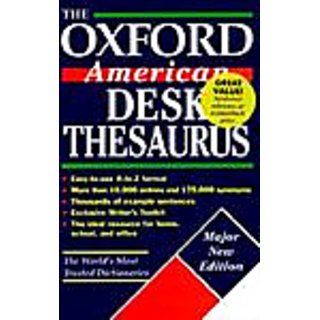 Oxford American Desk Thesaurus